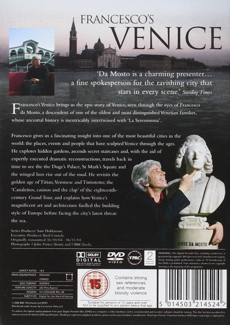 Francescos Venice Complete Bbc Series Dvd Amazoncouk
