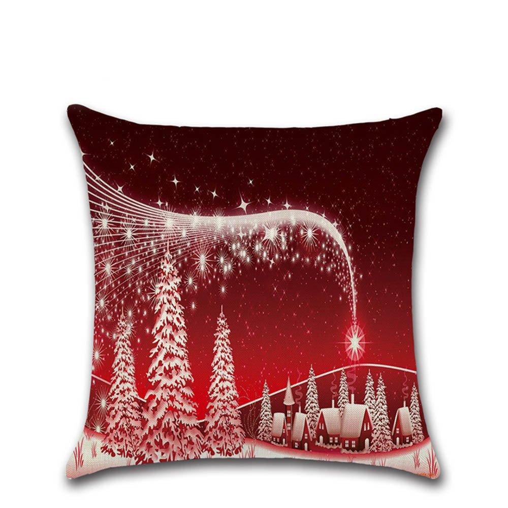 Nunubee Feliz árbol de Navidad Copo de Nieve Santa - Funda ...