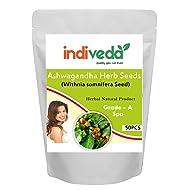 INDIVEDA Ashwagandha Herb Seeds - 50 PCS Indian Ginseng l (Withnia somnifera Seed)