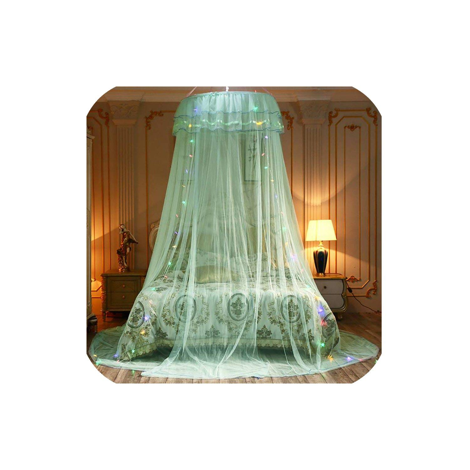Elegant Canopy Mosquito Net for Double Bed Mosquito Repellent Tent Insect Reject Canopy Bed Curtain Bed Tent,3