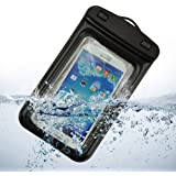 SDO Universal 100% Waterproof Pouch for All SmartPhone, New Waterproof Pouch With Band Special Waterproof Case (Black) for All Mobiles,Universal Pouch with Touch Sensor for Using Touch Screen for iPhone 5S 6,6 plus, Samsung Galaxy S4 S5 S6 S7 Edge S6 Edge Plus Moto G Plus, 4th Gen, Lenovo Vibe K4 Note, Meizu M3 Note, Lenovo Zuk Z1, Coolpad Note 3 Plus, Xiaomi Redmi Note 3,lenovo k5,lenovo k5 plus and All other Cell Phones
