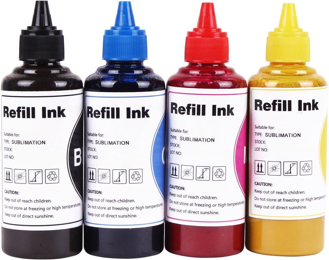 Dye hd Sublimation Ink for Inkjet Printers Refillable Ink Cartridge CISS for C88 C88+ WF7720 WF7710 WF7610 WF7510 WF7010 WF3610 WF3540 WF2760 WF2630 CX3800 ET-2650