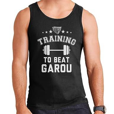 Cloud City 7 Training To Beat Garou One Punch Man Men s Vest  Amazon.co.uk   Clothing ecb6c62a9