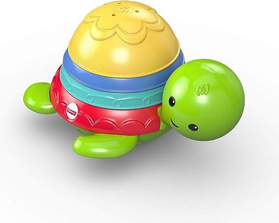 Fisher-Price Tortuguita Chip-chap, Juguete de baño bebé +6 meses (Mattel DHW16): Amazon.es: Juguetes y juegos