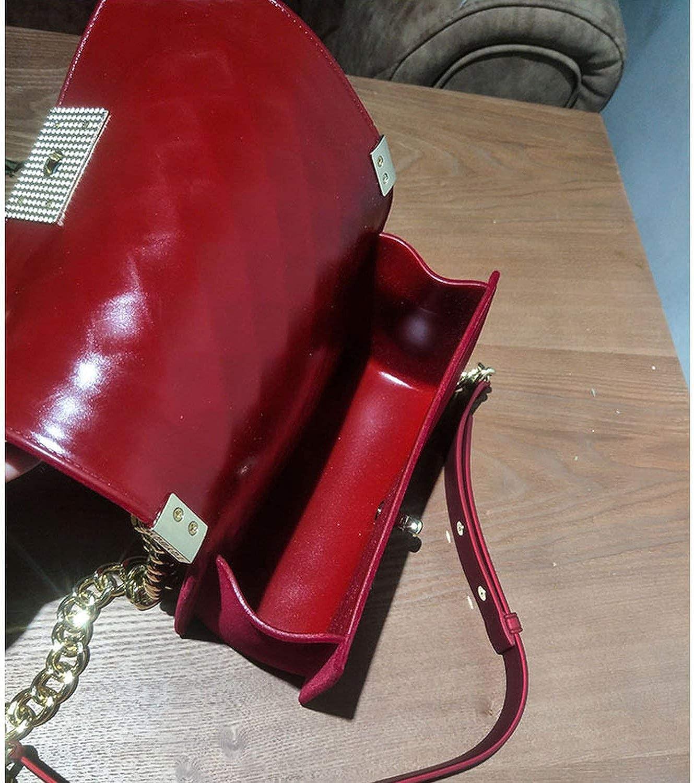 fragrance rhombic chain bag handbag small bag plush face shoulder Messenger bag,Green,Small 20cm7cm12cm