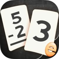 Subtraction Flashcard Match Games for Kids in Kindergarten, 1st and 2nd Grade Learning Flash Cards