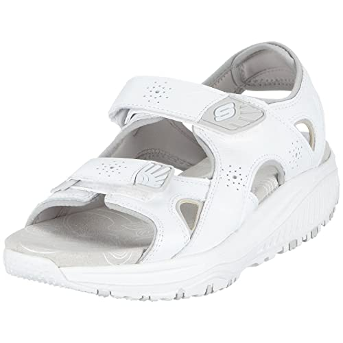 Skechers Shape-ups XW Roll Model 12292 Wht, Sandali Donna