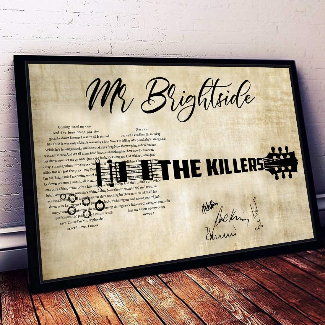 """The Killers Hot Fuss poster wall art home decor photo print 24/"""" x 24/"""" inches"""