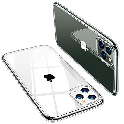 TORRAS Crystal Clear iPhone 11 Pro Case, Soft Silicone TPU Thin Cover Slim  Gel Phone Cover Case for iPhone 11 Pro 5.8 inch (2019), Crystal Clear