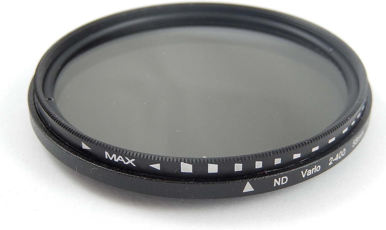 vhbw 72mm Filtre /à densit/é Neutre Gris Filtre ND2-ND400 pour Tous Les objectifs de 72mm de Sigma 17-70 mm 2.8-4 DC Macro OS HSM