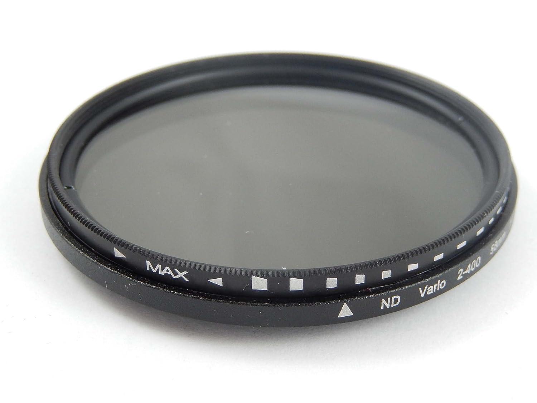 vhbw 40.5mm Filtro Gris de Densidad Neutra ND2-ND400 para Sony E 16-50 mm 3.5-5.6 OSS PZ SEL-P1650