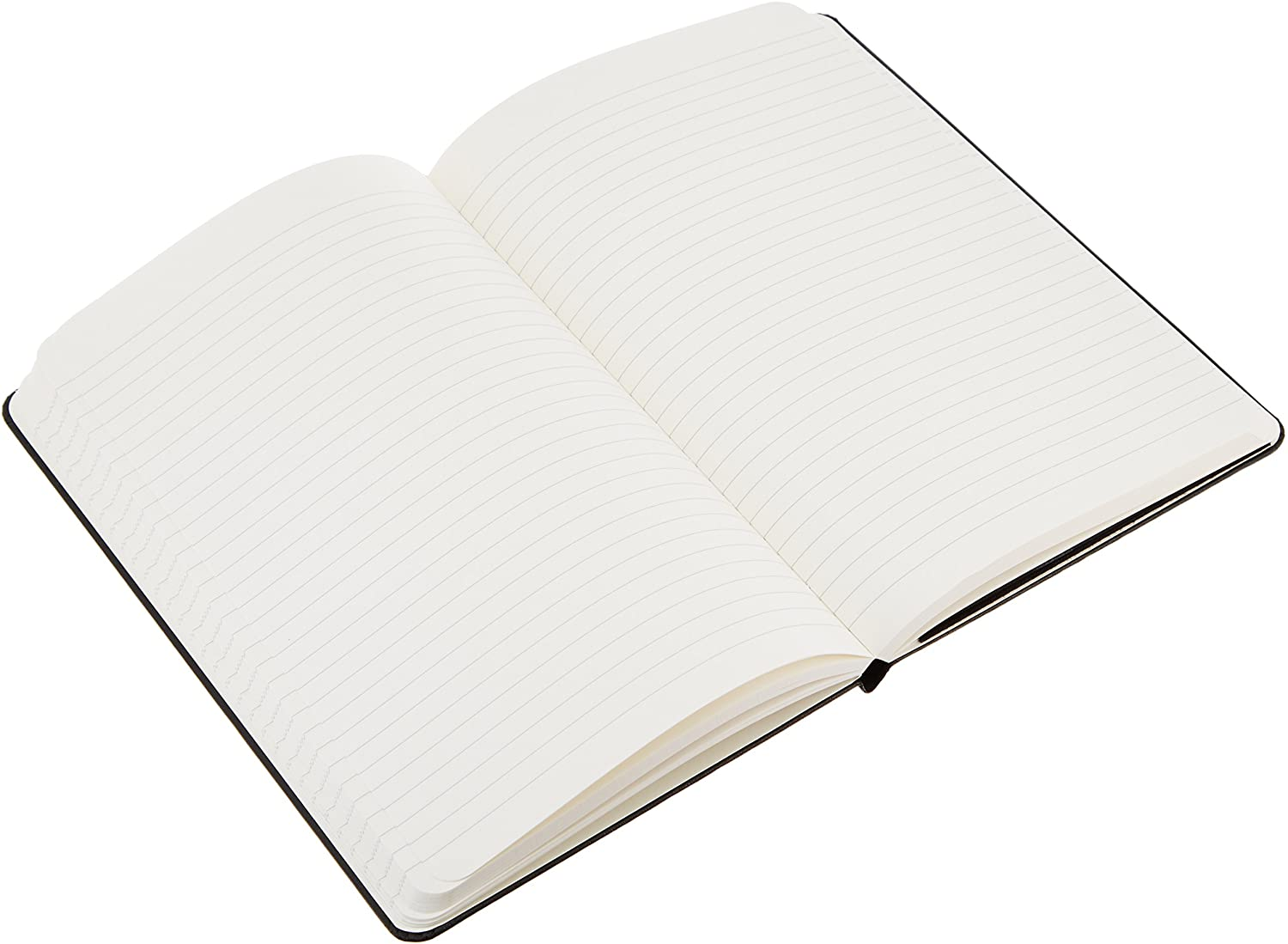 Amazon Basics Classic Lined Notebook, 240 Pages, Hardcover - Ruled