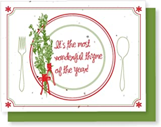 product image for Grow A Note® Holiday Thyme of The Year Card 5-Pack