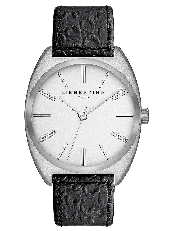 Liebeskind Berlin Unisex-Armbanduhr Brand New Snake Analog Quarz Leder LT-0037-LQ