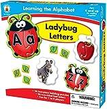Carson-Dellosa Publishing Learning The Alphabet: Ladybug Letters