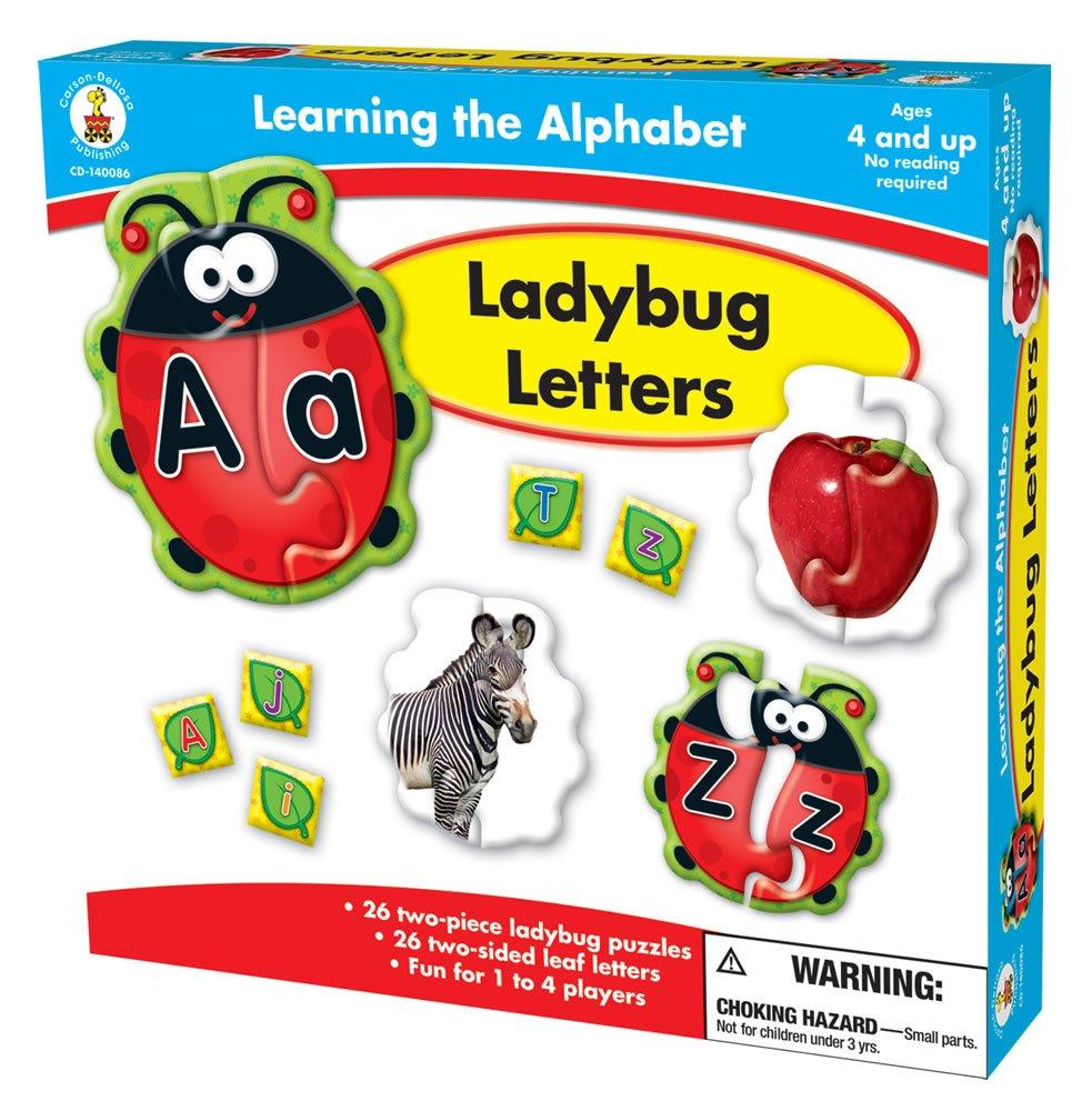 amazon com carson dellosa publishing learning the alphabet