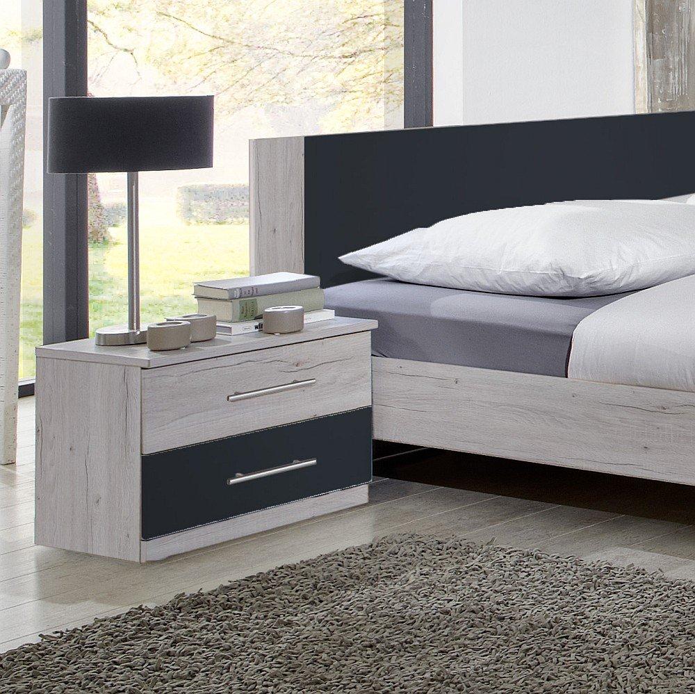 Wimex Schlafzimmer Set Anna Bestehend Aus Einem Bett Und Zwei