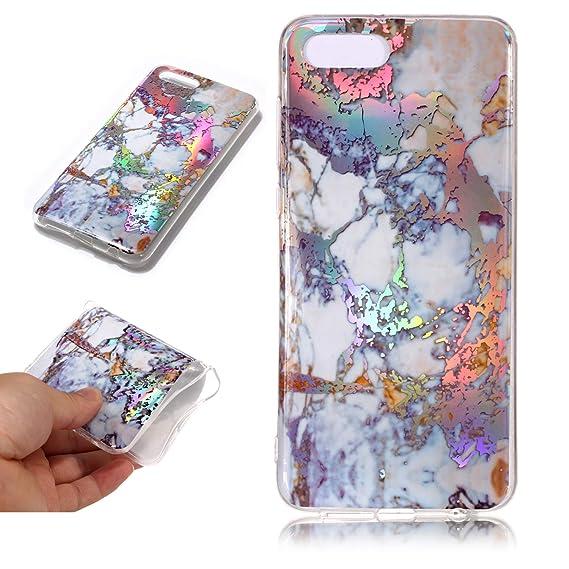 Amazon com: Huawei Y5 2018,Y5 Prime 2018,DAMONDY 3D Shiny Marble