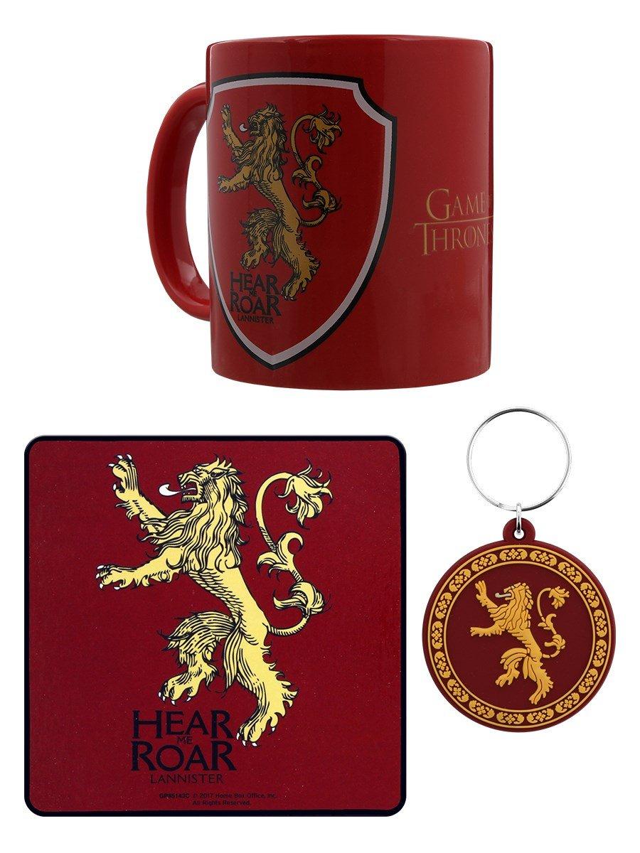 Game of Thrones GP85143 Lannister - Juego de taza, posavasos ...