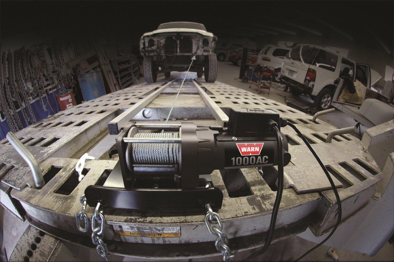 amazon com warn 80010 1000ac utility winch automotive