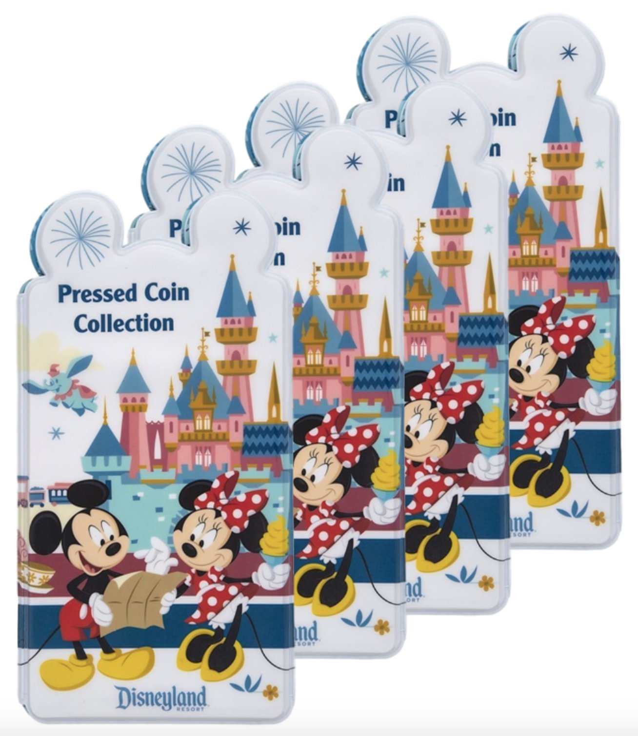 Mickey Mouse and Friends Pressed Coin Collection Holder - Disneyland (4)