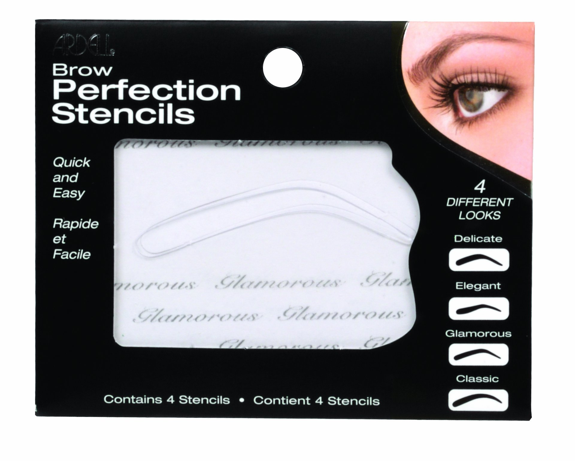 Amazon Ardell Brow Perfection Stencils Eyebrow Stencil Beauty
