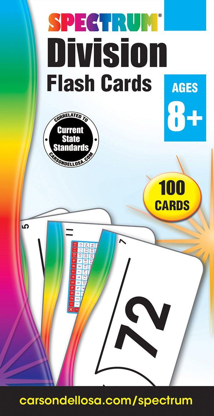 Carson Dellosa Division Flash Cards 734057 Games /& Activities Arithmetic Children: Grades 3-4 China JUVENILE JUVENILE NONFICTION // Games /& Activities // Card Games JUVENILE NONFICTION // Mathematics // Arithmetic Card Games Mathematics