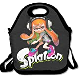 CseCas U Lunch Bag Cool Splatoon Game Lunch Tote Lunch Box For Women Men Kids With Adjustable Strap