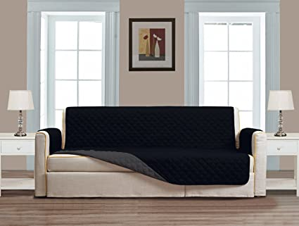 Superior Quality Reversible Loveseat Cover 90u0026quot; X 75u0026quot; Furniture  Protector For Pets,