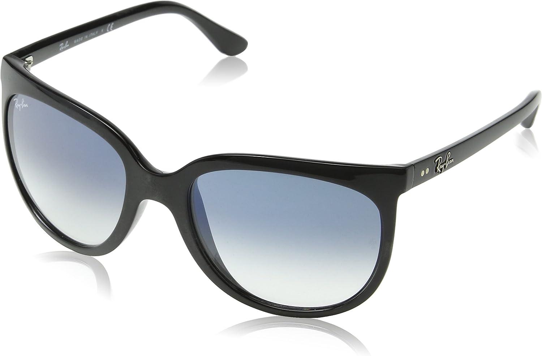 Ray-Ban 4126 Gafas de sol, Black, 56 para Mujer