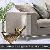 feileng 猫 爪とぎ防止 家具保護  爪研ぎ予防の対策に ソファー 傷つきにくいソファパッド
