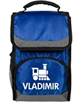 Vladimir Kids Cute Train Lunch Bag: Port Authority Flap Lunch Cooler Bag