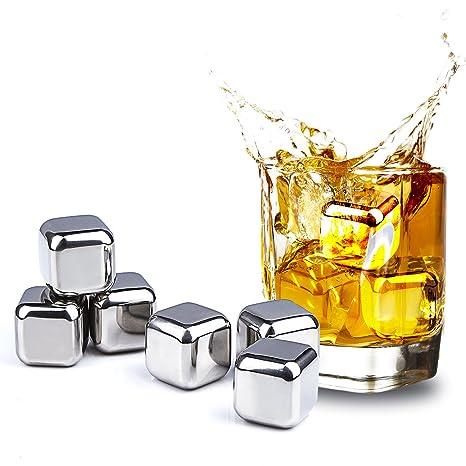 TPfocus - Cubitos de hielo para whisky, reutilizable, de ...