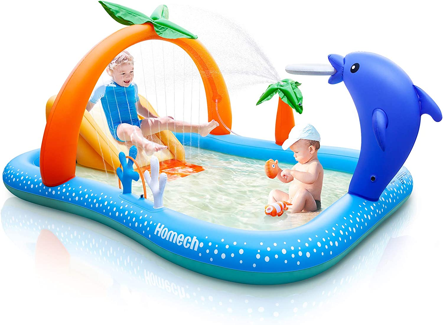 Homech Inflatable Play Center Pool for Kids for .99