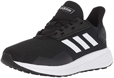 41f6cee6e adidas Performance Unisex-Kids Duramo 9 Running Shoe, Black/White/Black,