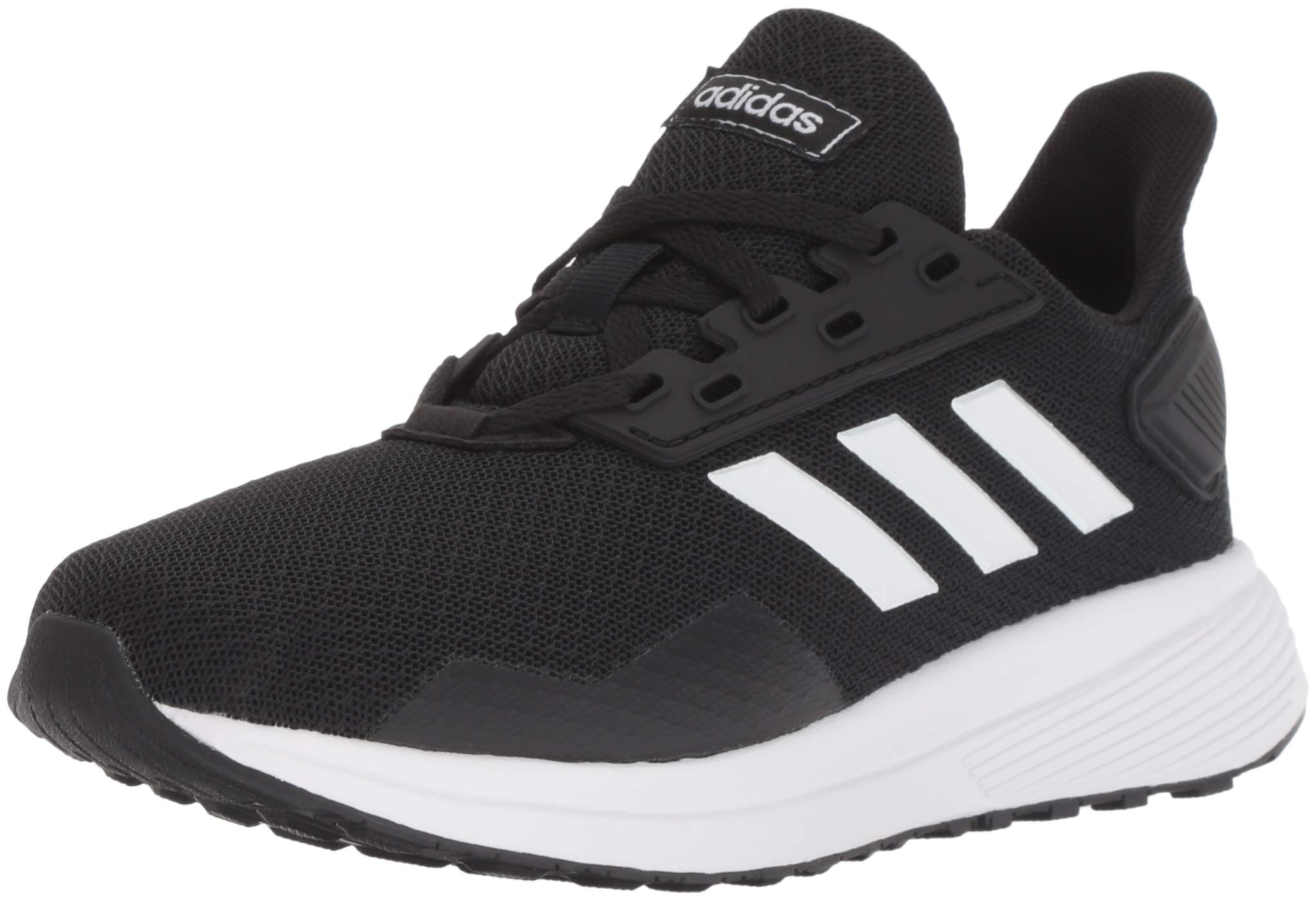 adidas Performance Unisex-Kids Duramo 9 Running Shoe, Black/White/Black, 12K M US Little Kid