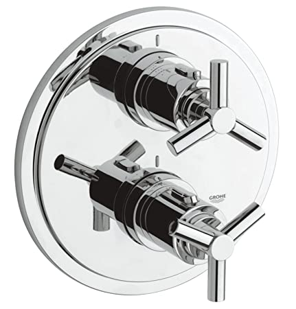 GROHE 19395000 | Atrio Thermostatic Shower Mixer With Diverter ...