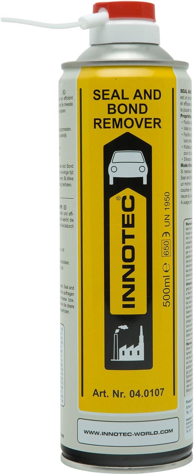 Innotec I04 0107 Innotec Seal And Bond Remover Reinigungsmittel 500 Ml Spraydose Auto
