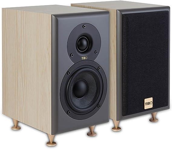 Color Negro Tibo Harmony 8/Altavoz para Amplificador