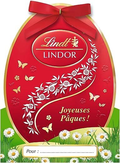 Lindt Lindor Mini Cadeau Oeuf 37 g - Lot de 2