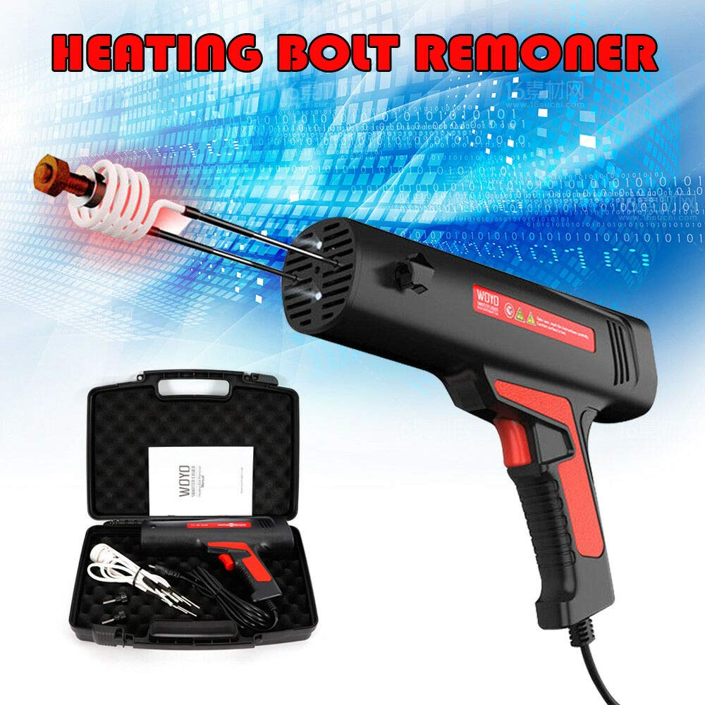 110V Car Magnetic Induction Heater Tool Kit Bolt Remover Flameless Heat Mouldings Trim Exterior Car Truck Parts by WINUS