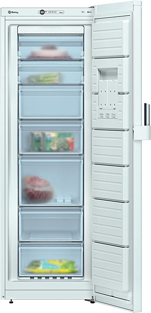 Balay 3GF8501B Independiente Vertical 220L A++ Blanco - Congelador ...