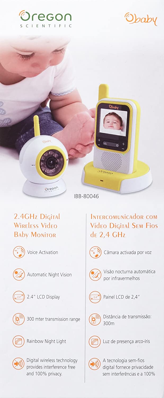 Oregon Scientific IBB-80046 - Vigila bebés digital con video: Amazon.es: Bebé