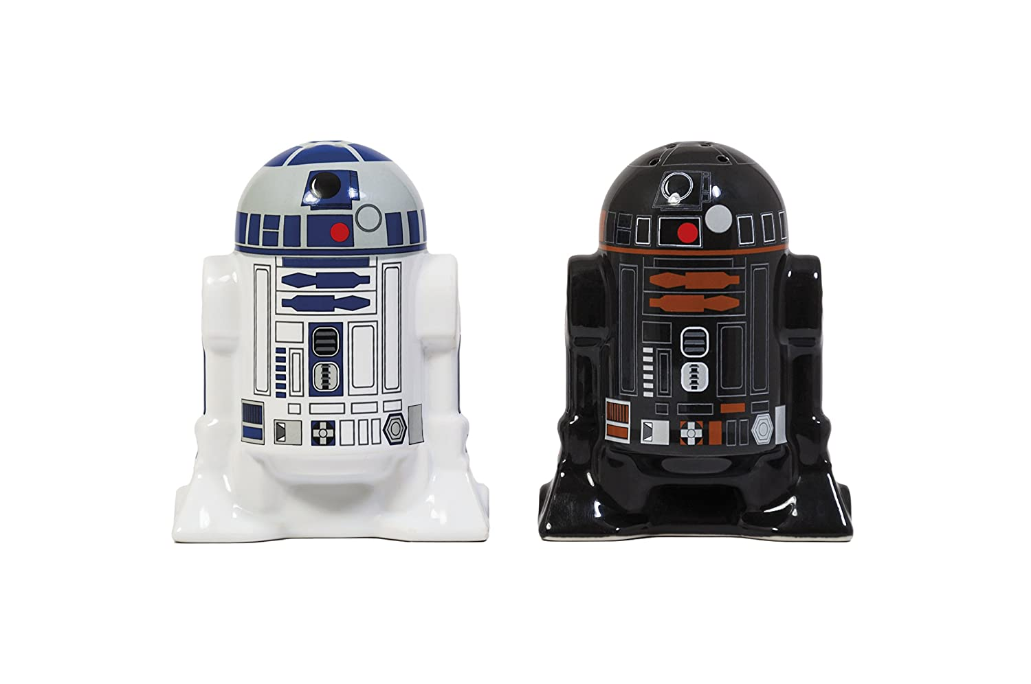 Star Wars Ceramic Salt and Pepper Shakers TruffleShuffle 1415.8241.71