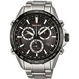 Mens Seiko Astron GPS Chronograph Radio Controlled Solar Powered Watch SSE011J1