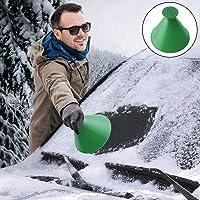 Ronde ijskrabber voor auto, sneeuwschep, ijskrabber Hirundo magische ijskrabber auto reiniging sneeuwschepje gereedschap…