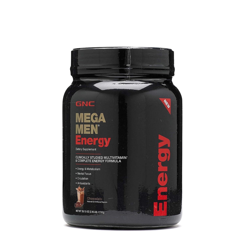 GNC Mega Men Energy, Chocolate, 2 Lbs