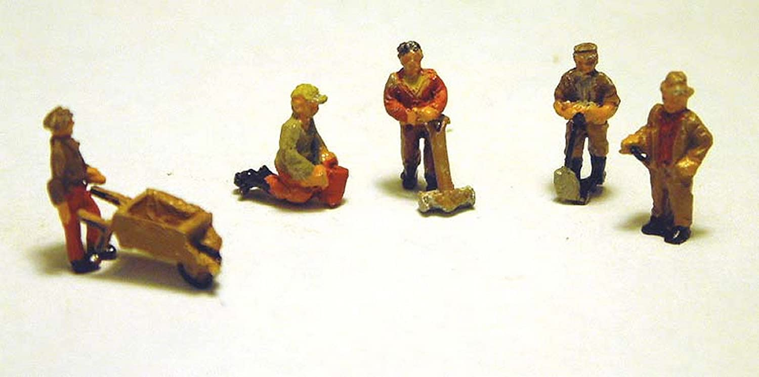 Langley MODELS a93 characters Gardener with Accessories 5x-Track N-NEW