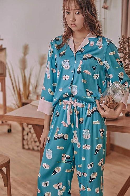 Ropa De Dormir Pijamas Dos Piezas Señoras Inicio Ropa Sushi ...