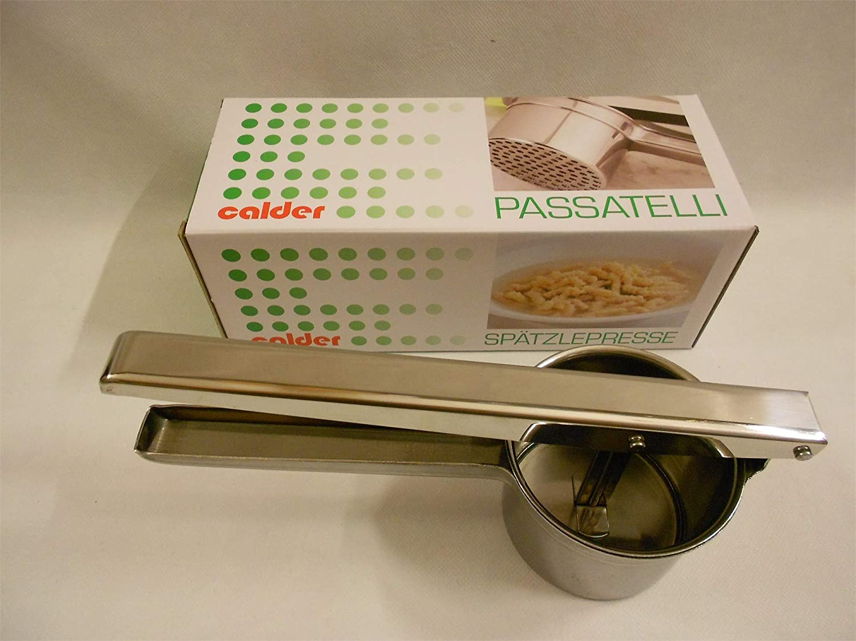 Calder PANETTA Schiacciapassatelli Inox Utensili da Cucina Acciaio Inossidabile